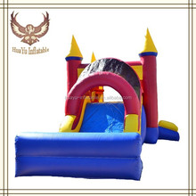 giant inflatable water slide inflatable bouncy castle with pool