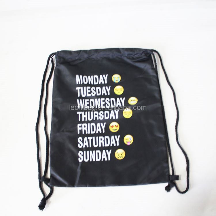 New products super quality long life cute drawstring bag