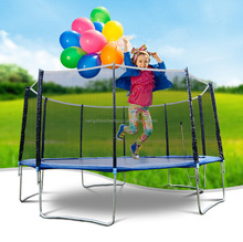 Hot Selling 10ft Kids Trampoline with protection net,Kids Spring Jumping Bed,CZA-006 Indoor Gym Bounce Bed with protection net