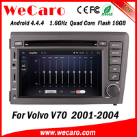 Wecaro WC-VL7060 Android 4.4.4 car stereo 2 din for volvo v70 car dvd player radio gps 1080p 2001-2004