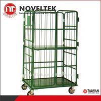 450 kg loaded Logistics vehicles Warehouse metal storage cage