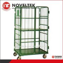 450 kg loaded Logistics vehicles Warehouse metal storage cage