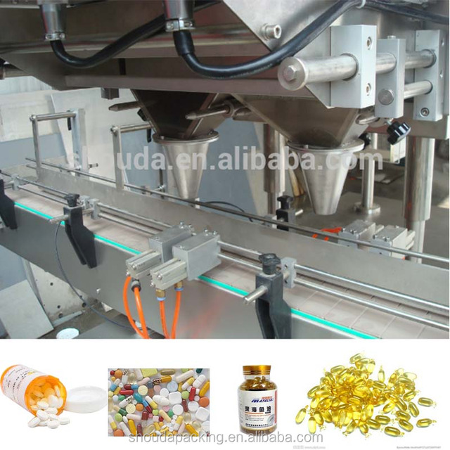 Soft or Hard Capsule Counting Machine / Capsule Production Line / Pill Tablet Calculating Machine