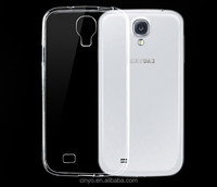 for samsung galaxy s4 tpu case, for samsung galaxy s4 i9500 ultra thin transparent clear tpu gel silicone case cover