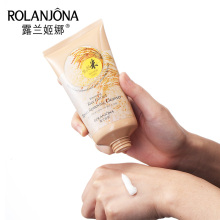 A01289 Rice Extract Cleansing Foam Face Care Deep Cleansing Remove Blackhead Moisturizing Brightening Skin Facial Pore Cleanser
