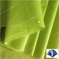 Silicone PU Coated 20D Nylon Ripstop Fabric for Lightweight Tent