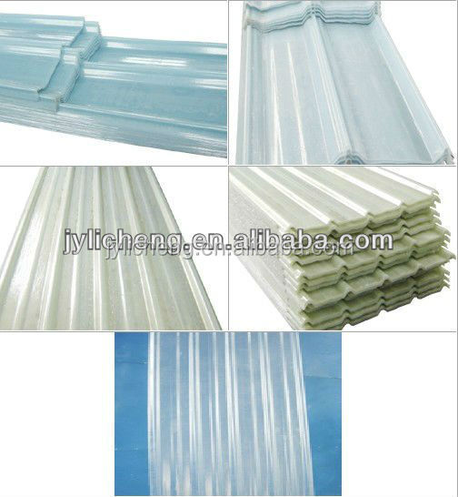 1.0mm corrugated polycarbonate sheet/frp panel