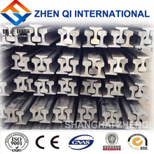 China 15kg/m railway heavy steel rails with good quality