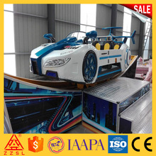 Cheap price indoor amusement rides kids electric space car swing car flying car