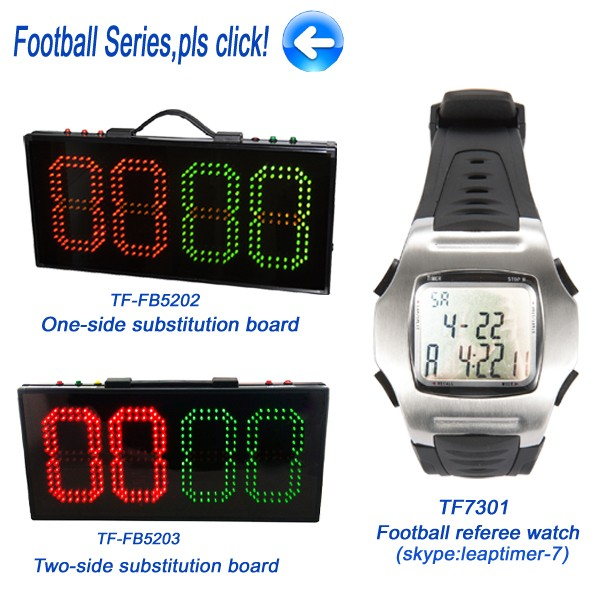 One Side High Quality Football Scoreboard Show Injury Time