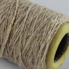 count 1.8s/2 recycled acrylic blendedcotton melange yarn in knitting yarn for mop