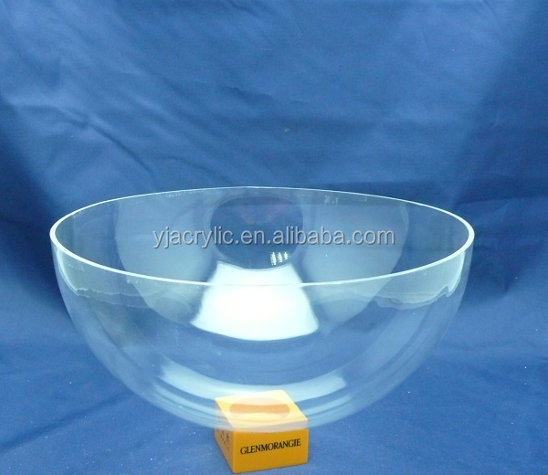 Customized acrylic large plastic hemisphere dome