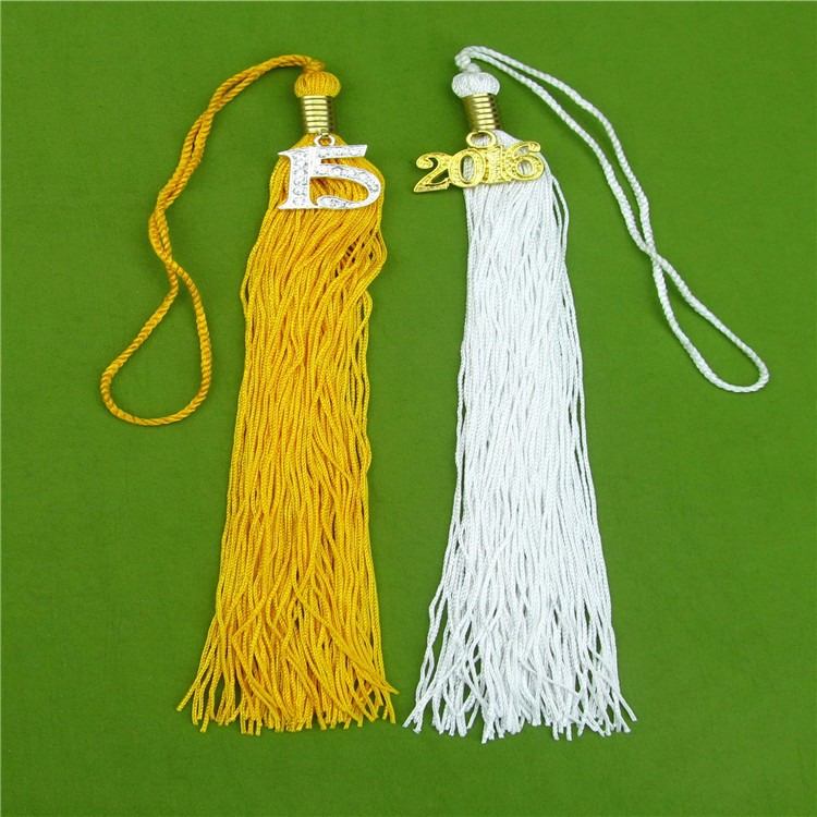 Wholesale Custom Long Nylon Tassel Fringe For Bag Decoration, Gift And Accessories