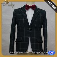 classic style linen blazers for men with CE certificate
