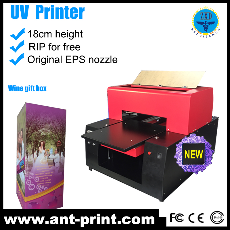 Biggest Ant-print Manufacturer A3 Size 3d Flat bed UV Printer in China