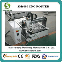 Manufacture price!SM-6090 3d engraving cnc machine/ advertising cnc router machine