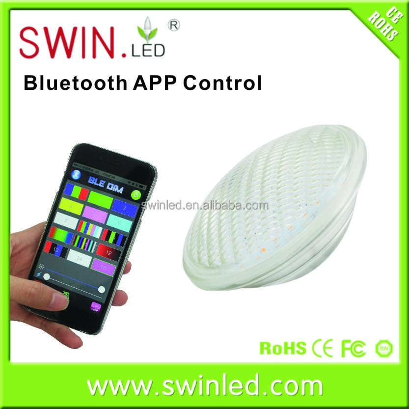Wifi par56 led 30w bluetooth swimming pool light <strong>bulbs</strong>