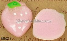 Best gift resin food cabochons strawberry