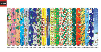 PATTERN DESIGN NAIL FILE STRAIGHT 7""