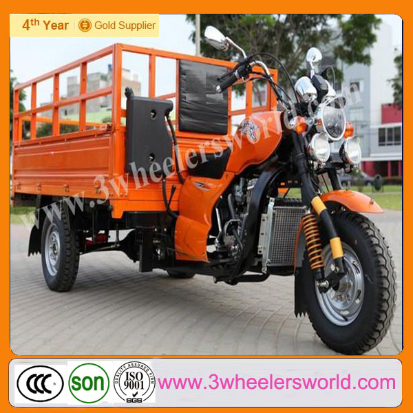 China 3 Wheel Trike Motorcycle Roof with Power Rear Axle for Sale