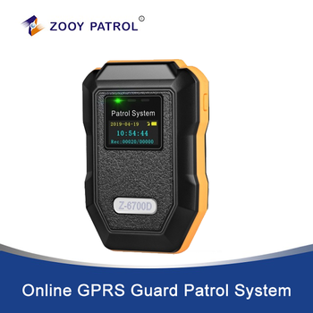 Z-6700D  Online GPRS Guard Patrol System for Remote Security Patrol Rounds Verification