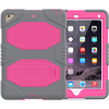 2018 Latest Three Layer Heavy Duty Soft Silicone Hard Bumper Case For New iPad