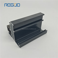aluminium cross sections sliding window frame aluminum profiles for light box 6063 extrusion profile