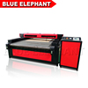 Double heads cnc laser cutting machine , cnc laser cutter for fabric , leather , acrylic