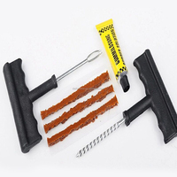 Emergency Car Tubeless Tire Puncture Repair Kit,Tire Repair Tool
