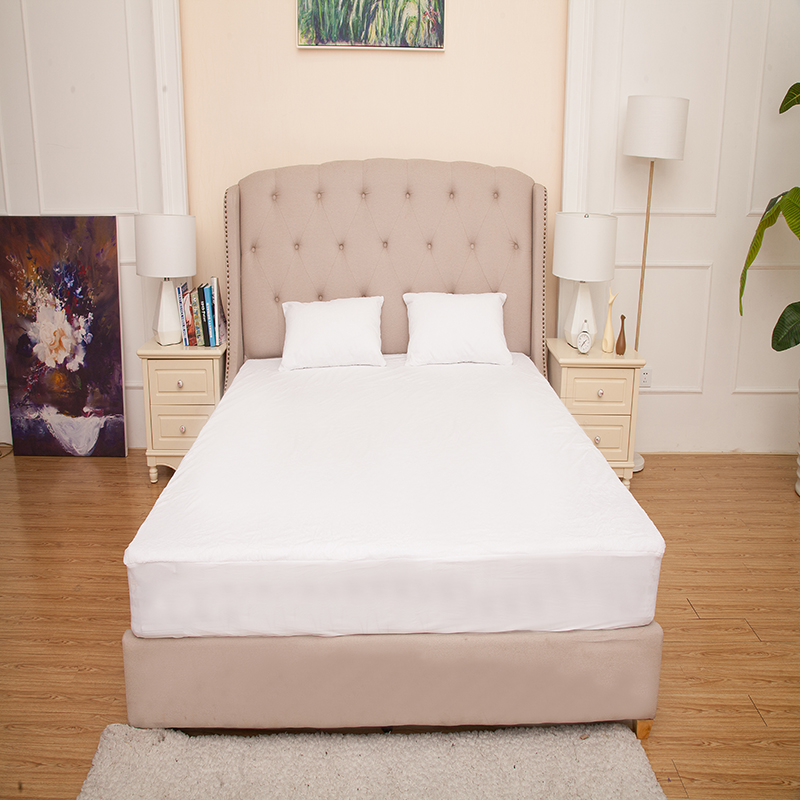 230gsm Coral Fleece Fabric Mattress Protector Waterproof For Star Hotel - Jozy Mattress | Jozy.net