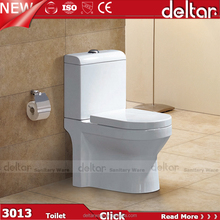 Foshan Deltar 3013 Sanitary Ware Product Two Piece white color chinese toilet pots