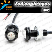 High Power LED eagle eyes 2 X Bolt on Screw LED Mini Eagle Eye Parking Daytime Driving Tail Light Backup DRL Fog Lamp Car Light