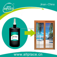 High quality ultraviolet cure adhesive for sliding glass door