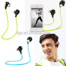 Smallest Wireless Sports Neckband Sweatproof In-ear with Flat Cable Stereo Earbuds Earphones with Microphone Bluetooth Headset