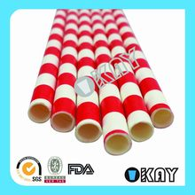 2015 New Design Promotional Colorful Paper Straws Festival Decoration