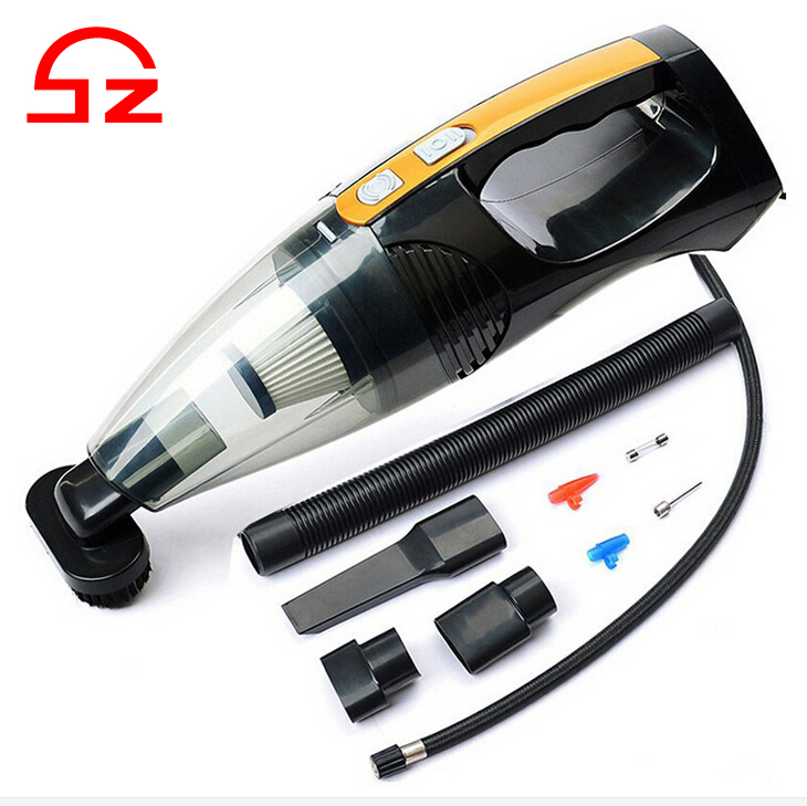 2016 New design 12v 4 in 1 wet dry vacuum cleaner for car