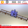 H beam rust removal machine steel structure roller conveyor shot blast cleaning equipment
