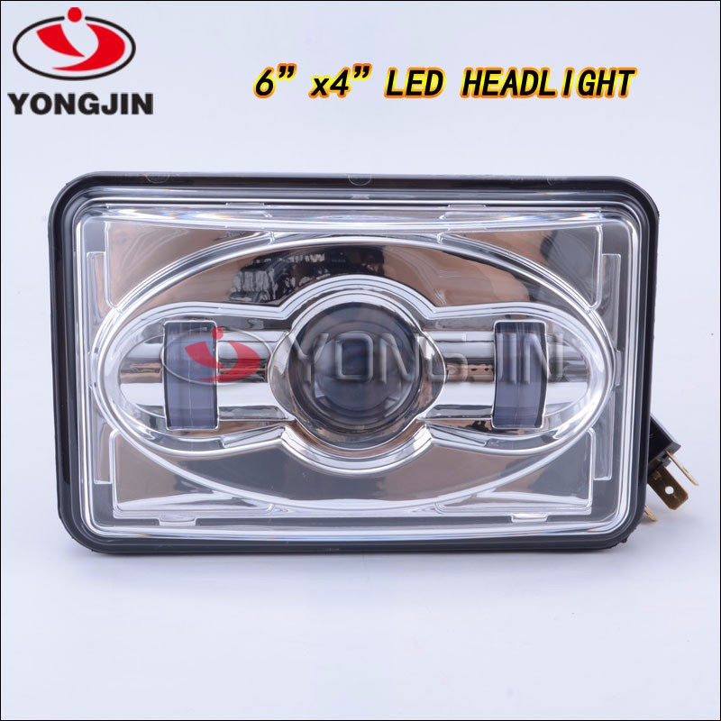 New designs square 5 inch IP68 trucks car spot lights led