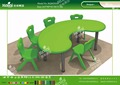 Kaiqi KQ60203E kindergarten furniture plastic children moon table different colors and sizes available
