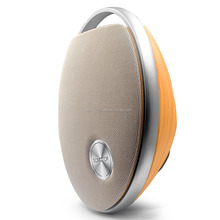 High end Wooden Grain Speaker Wireless Bluetooth V4.0 Portable Speaker with HD Sound