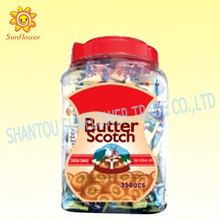 Butter Scotch Hard Candy In Bottle