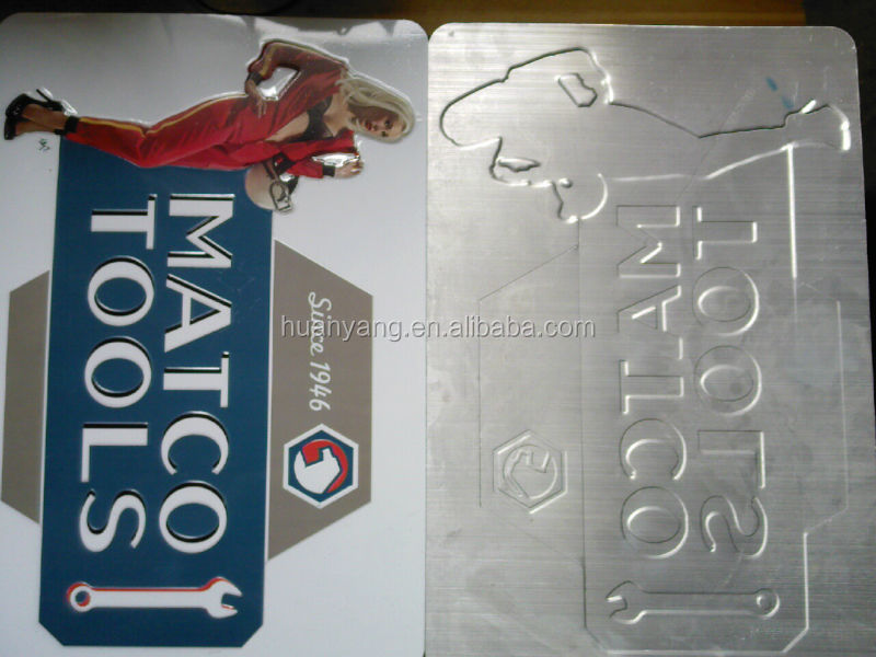 custom aluminum sign (factory price)
