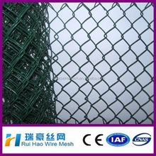 home garden hot dipped galvanized chain link fence / galvanized heavy duty cheap chain link fence