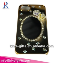 New Bling Rhinestone Mirror Case Deco Phone Cases With Mirror