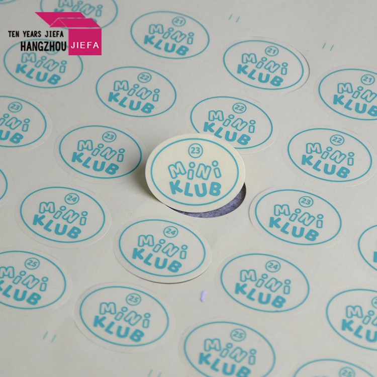 Custom waterproof sticker,clear sticker,die cut sticker