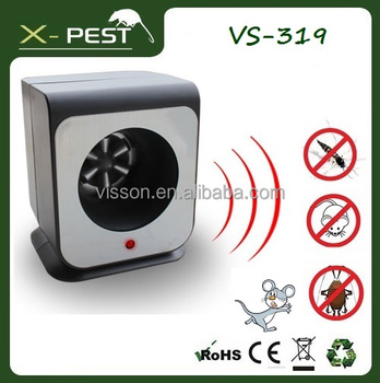 X-pest AC Plug Multiple Electronic Ultrasonic Pest Repeller for mice rat roaches flea cricket sliverfish waterbugs moth ant