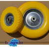customized 3.00-4 3.50-4 3.50-6 4.00-6 3.50-8 4.00-8 10 solid PU foam rubber wheel