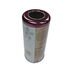 Custom Food Grade Tin Can, Food Packaging Cylindrical Tin Can, Tea Tin Canisters