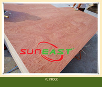4x8 BB/CC grade 3-ply red hardwood bintangor packing plywood,cheap plywood for sale