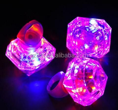 Custom make your own design eco-friendly materail diamond night light made in china factory